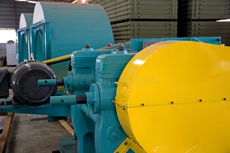 Industriële Machineries bij een Gieterij royalty-vrije stock afbeeldingen