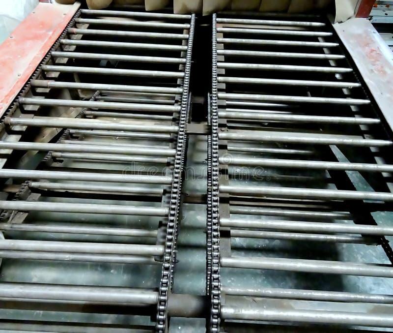 Industriële Mechanische Rolriem stock afbeelding