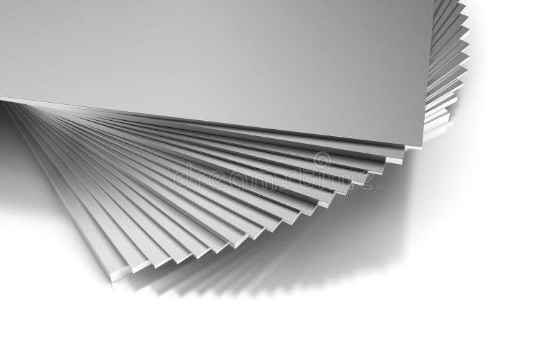 Industriële Metaalplaten vector illustratie