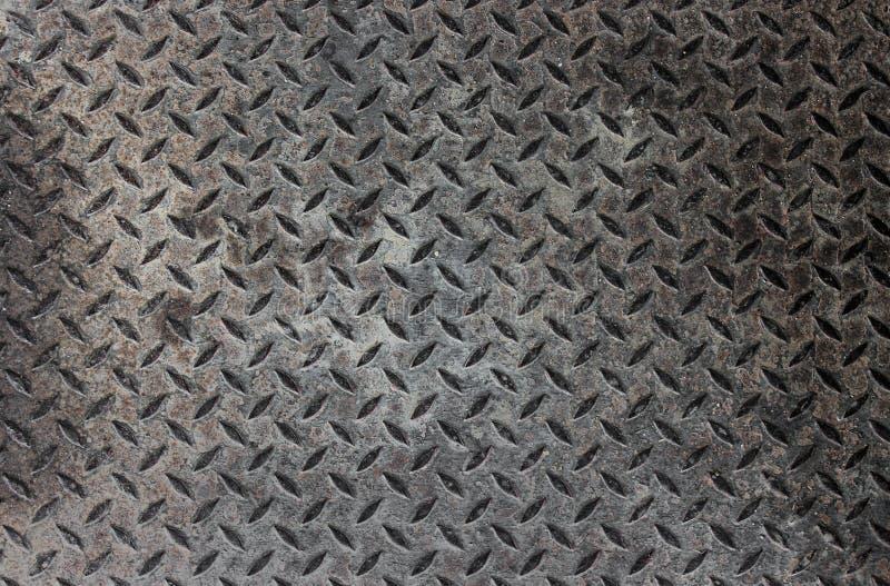 Industriële metaalvloer stock foto's