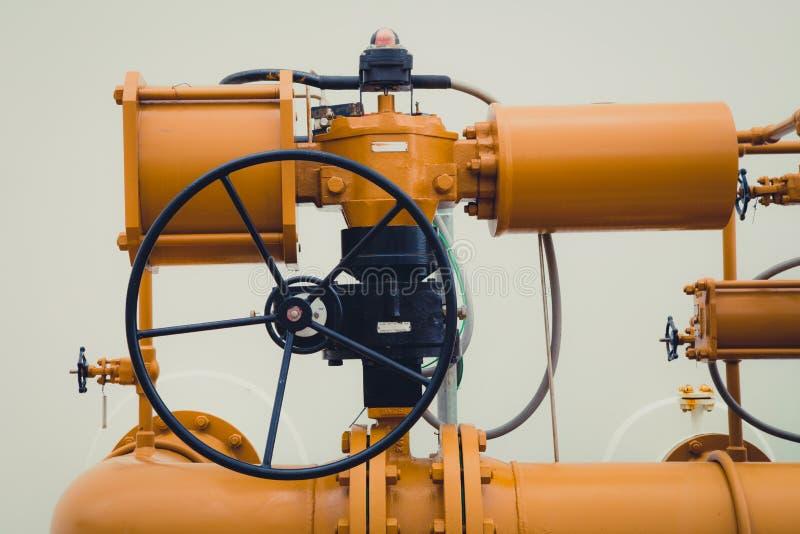 Industriële Pijpklep/Poortklep stock afbeeldingen