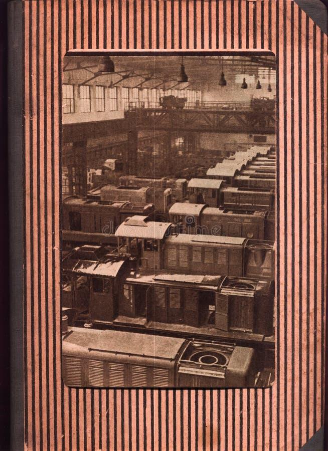 Industriële plaats stock afbeeldingen