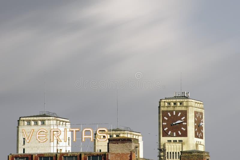 Industriële plaats Veritas Wittenberge royalty-vrije stock fotografie
