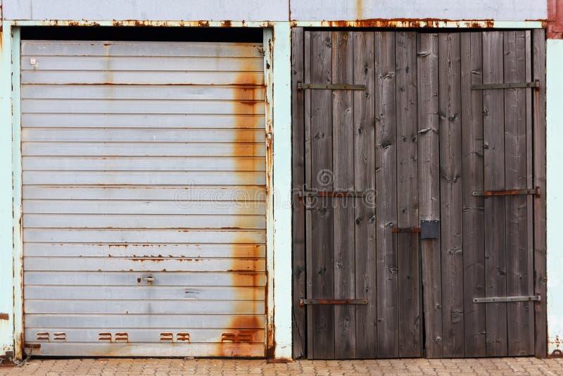 Industriële Poorten royalty-vrije stock afbeeldingen