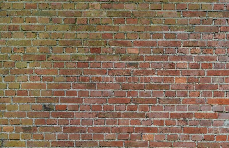 Industri?le rode bakstenen muurachtergrond in Europa stock fotografie