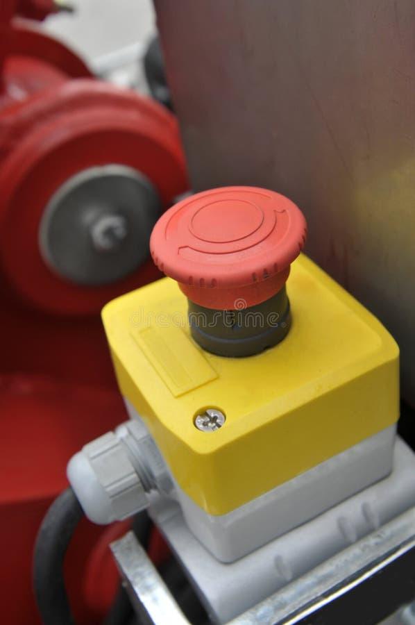 Industriële rode knoop royalty-vrije stock afbeeldingen