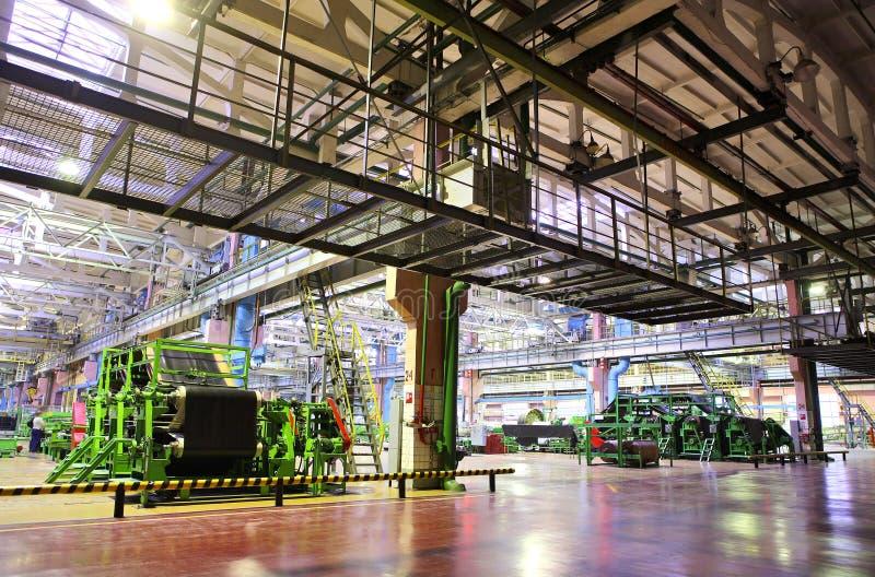 Industriële ruimte royalty-vrije stock fotografie