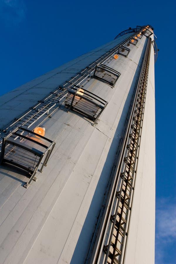 Industriële schoorsteen 2 stock fotografie