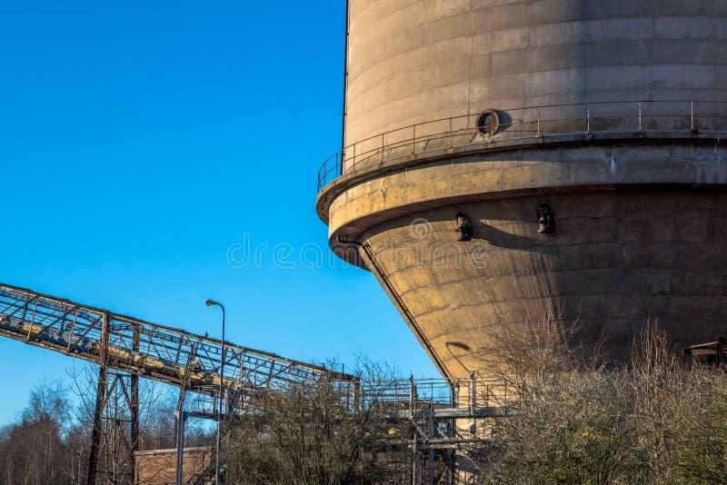Industriële tank royalty-vrije stock fotografie
