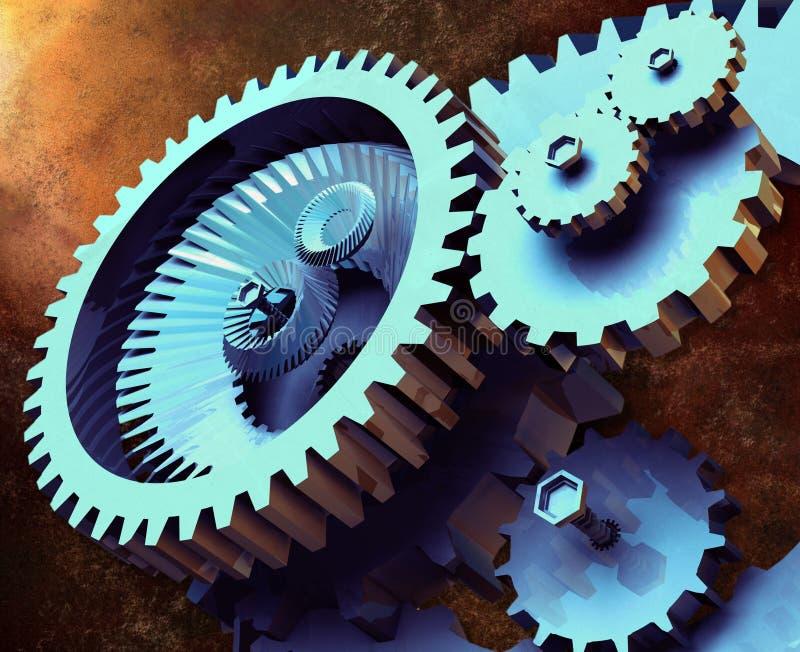 Industriële Toestellen vector illustratie