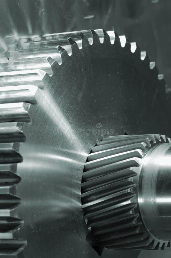 Industriële toestellen bij close-ups royalty-vrije stock foto