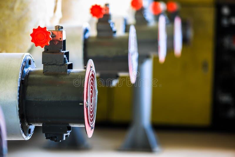 Industriële ventilatorventilator voor ventilatielucht en het koelen temperatuur royalty-vrije stock foto's