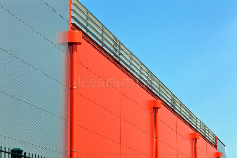 Industriële zaal royalty-vrije stock afbeelding