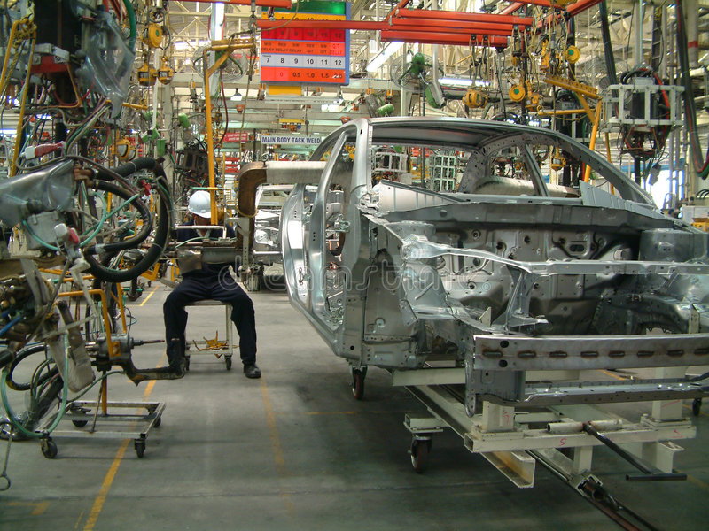 Industria automobilistica fotografia stock
