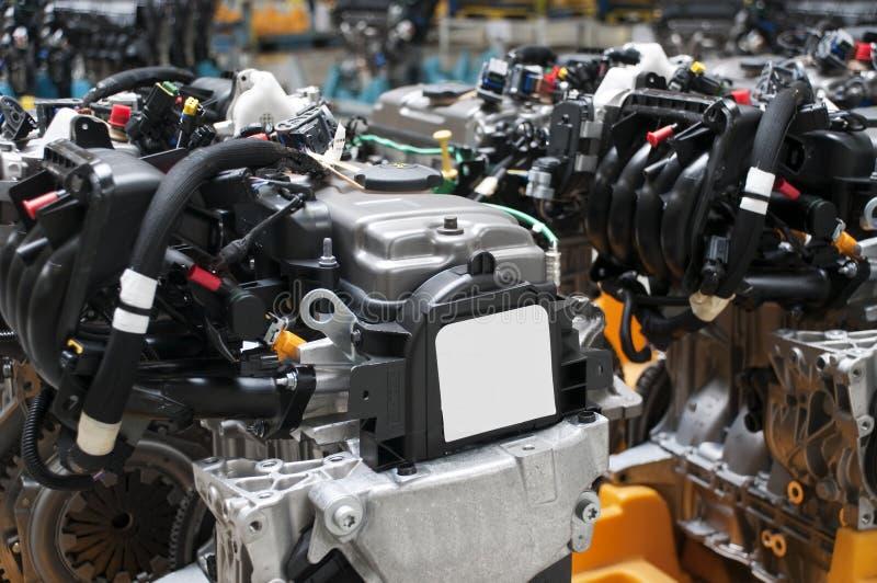 Industria automobilistica - motori fotografia stock libera da diritti