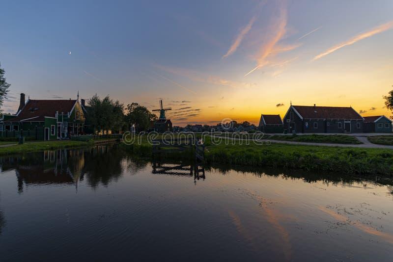 Industria casearia di Zaanse Schans fotografia stock libera da diritti