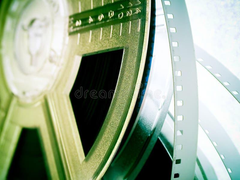 Industria cinematografica - bobine di pellicola immagini stock