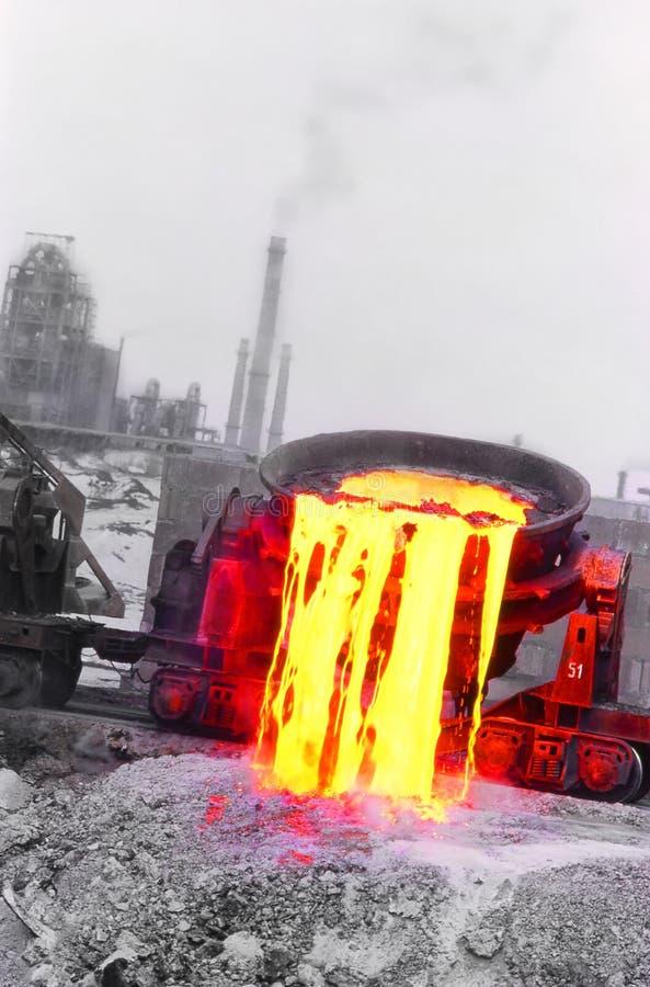 Industria de acero foto de archivo libre de regalías