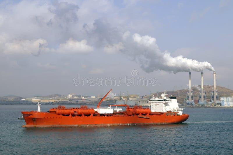 Industria de Chevical - petrolero químico imagenes de archivo