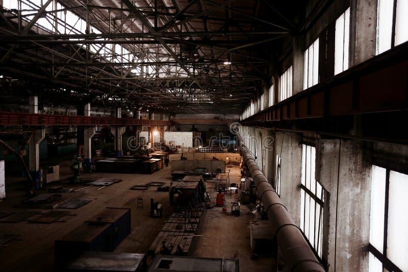 Industria de la fábrica fotografía de archivo