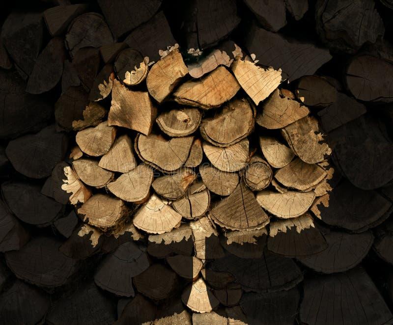 Industria de la madera de construcción ilustración del vector