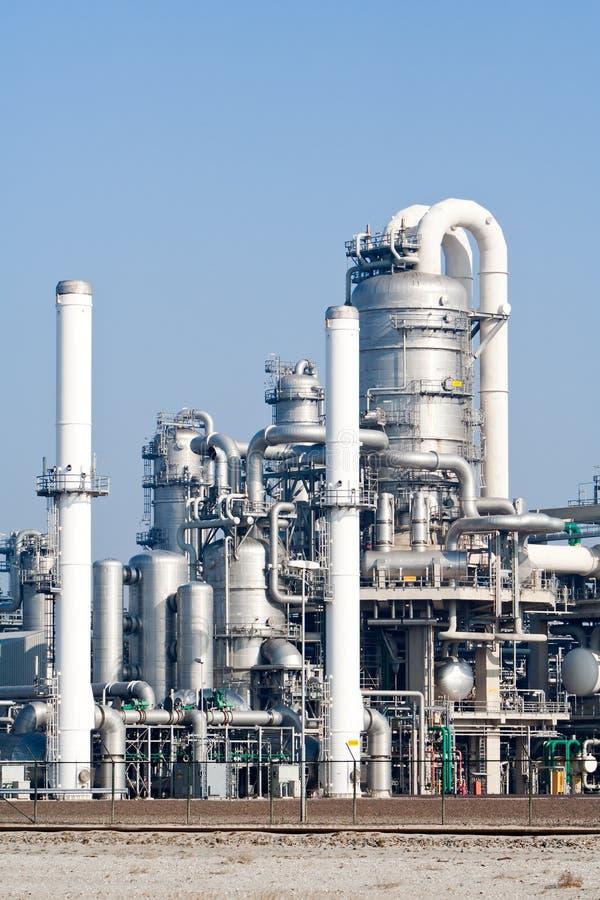 Industria de la refinería foto de archivo