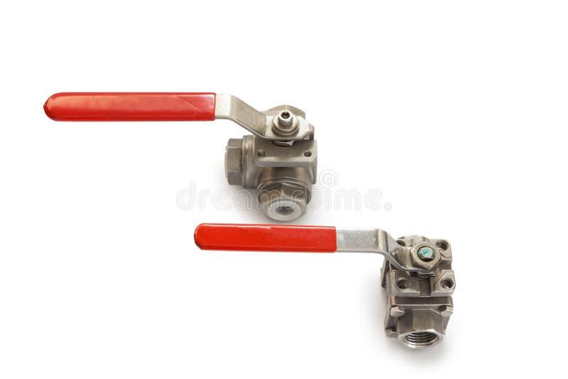 Industria dei rubinetti dei montaggi immagini stock