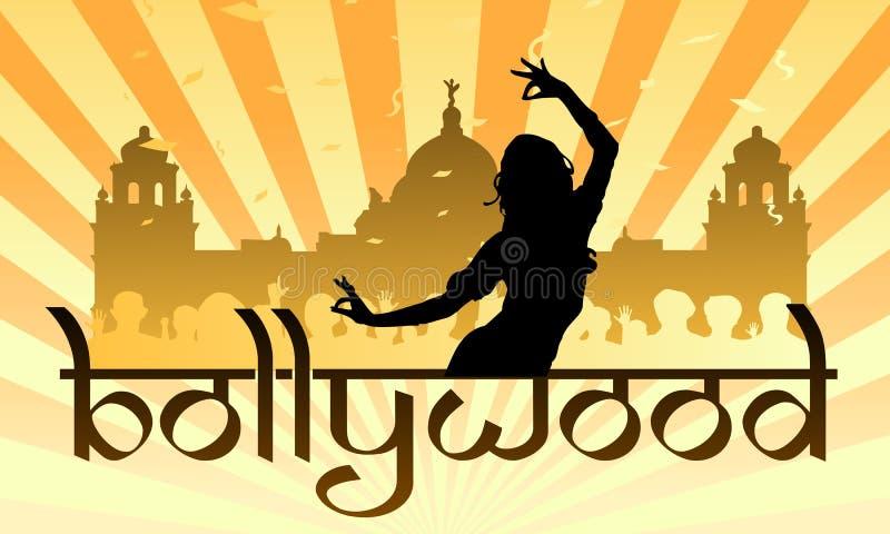 Industria del cine del indio de Bollywood stock de ilustración