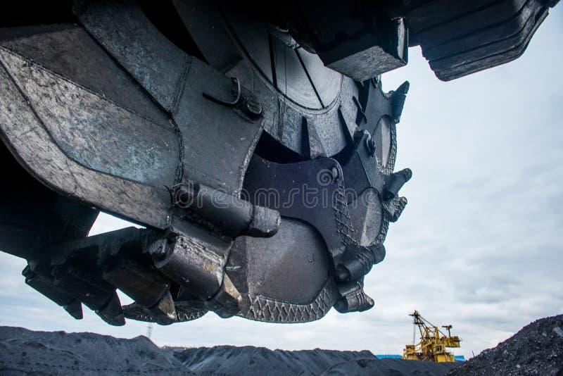 Industria del del carbón imagen de archivo libre de regalías