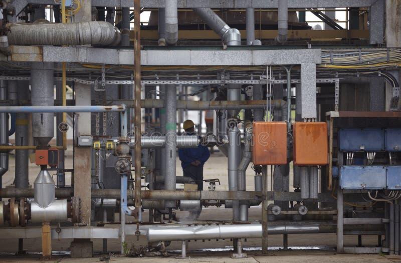 Industria della nafta e del petrolio immagini stock libere da diritti