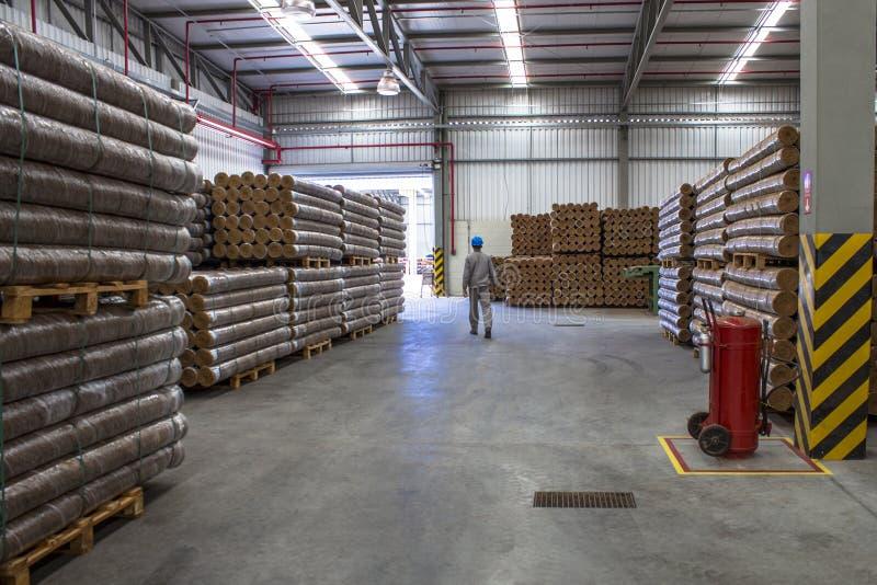 Industria della noce di cocco immagine stock
