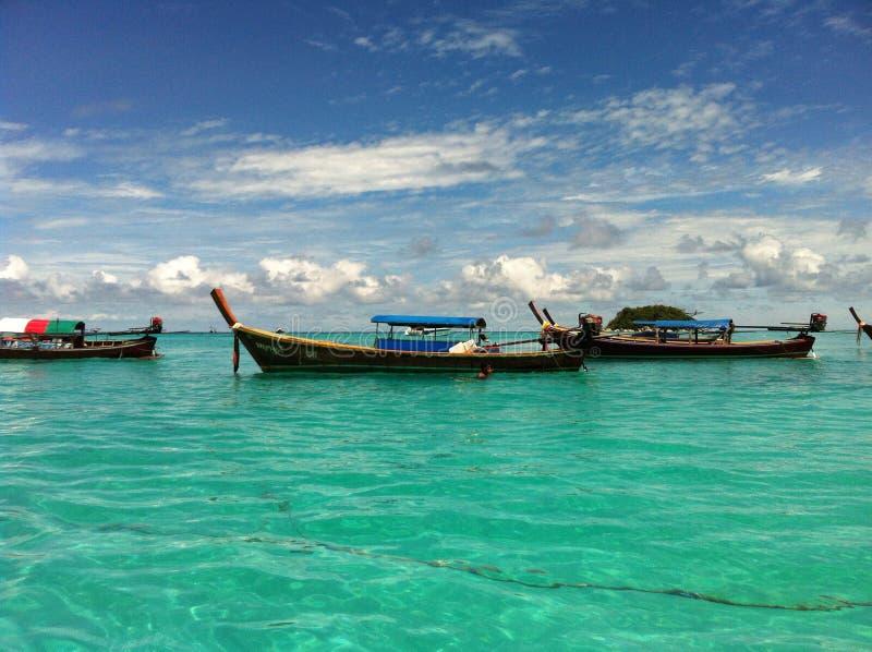 Industria della pesca della Tailandia immagini stock