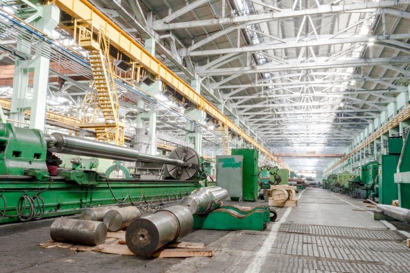 Industria di costruzioni meccaniche fotografie stock libere da diritti