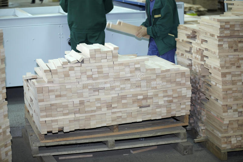 Industria di legno della segheria immagine stock libera da diritti