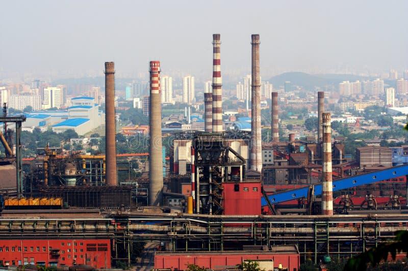 Industria di Pechino fotografie stock libere da diritti