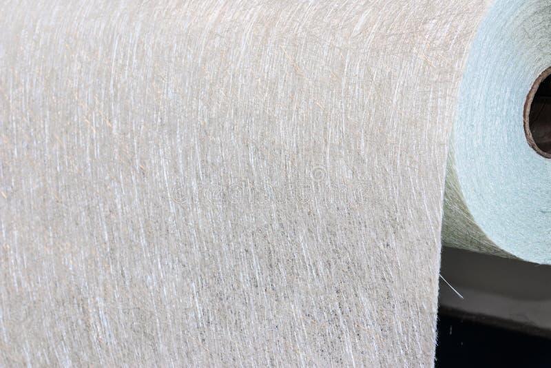Industria materiale del rotolo composito FMR del tessuto della vetroresina fotografia stock libera da diritti