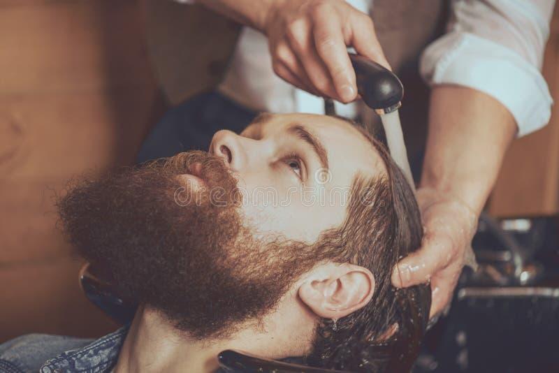 Industria moderna del peinado fotografía de archivo libre de regalías