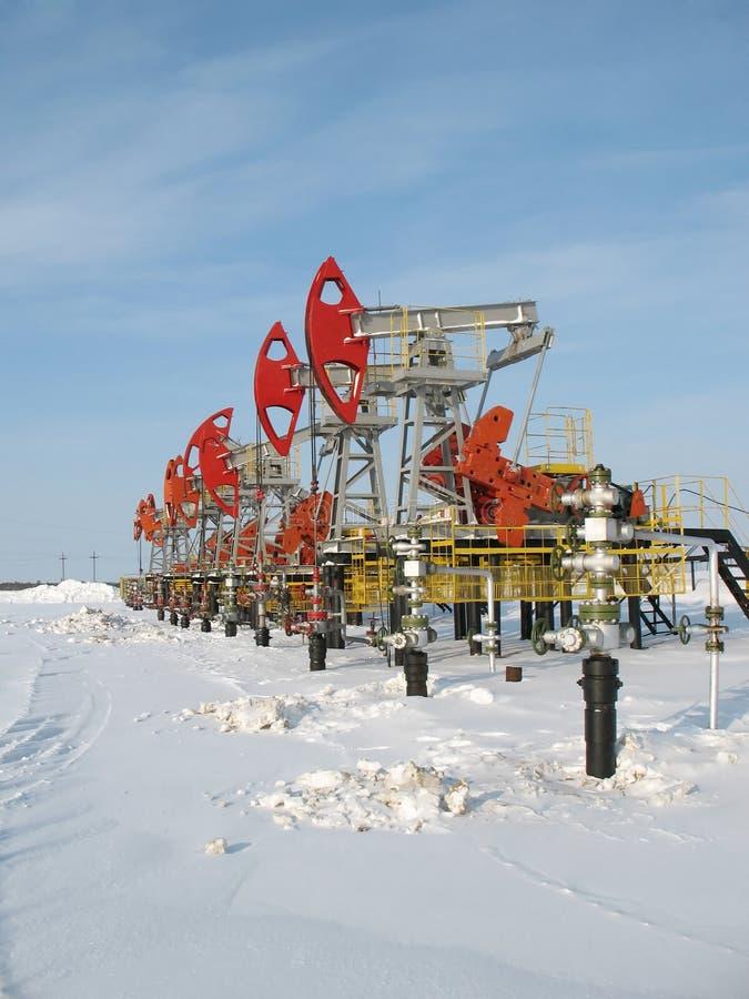 Industria petrolifera 4 fotografia stock libera da diritti