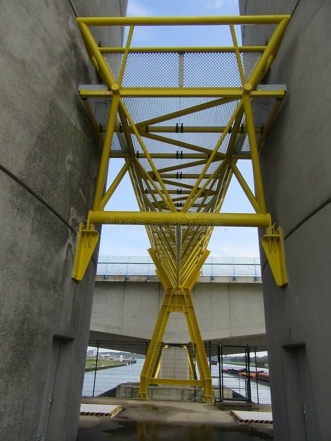 Industria Rotterdam Maasvlakte fotos de archivo