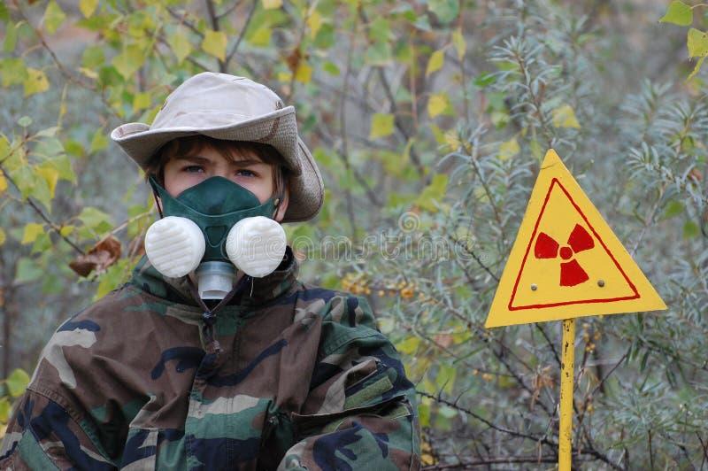 Industrial Archeology. Nuclear Tourist Stock Photos