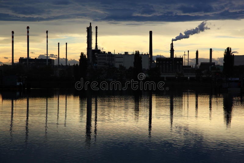 Industrial area royalty free stock image