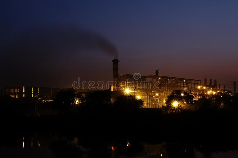 Industrial Area Borai(Rasmada), Durg. Chhattishgarh royalty free stock photo