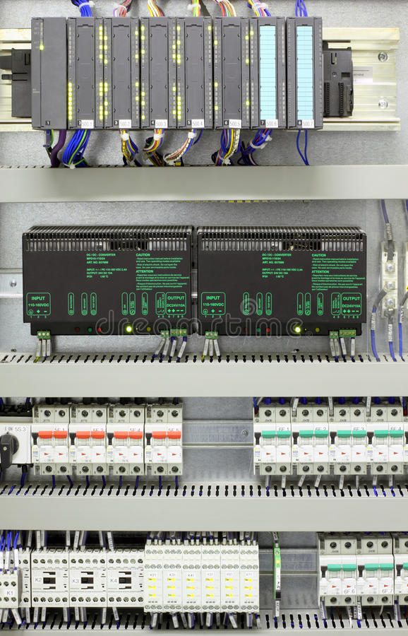 Download Industrial Automation And Control Stock Image - Image: 16545271