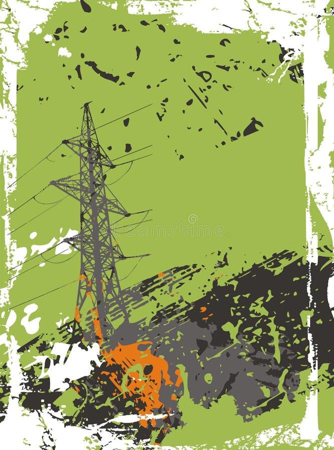 Download Industrial Background stock vector. Image of design, building - 1778887
