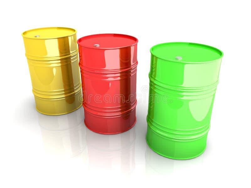 Download Industrial Barrels stock illustration. Illustration of power - 20598768