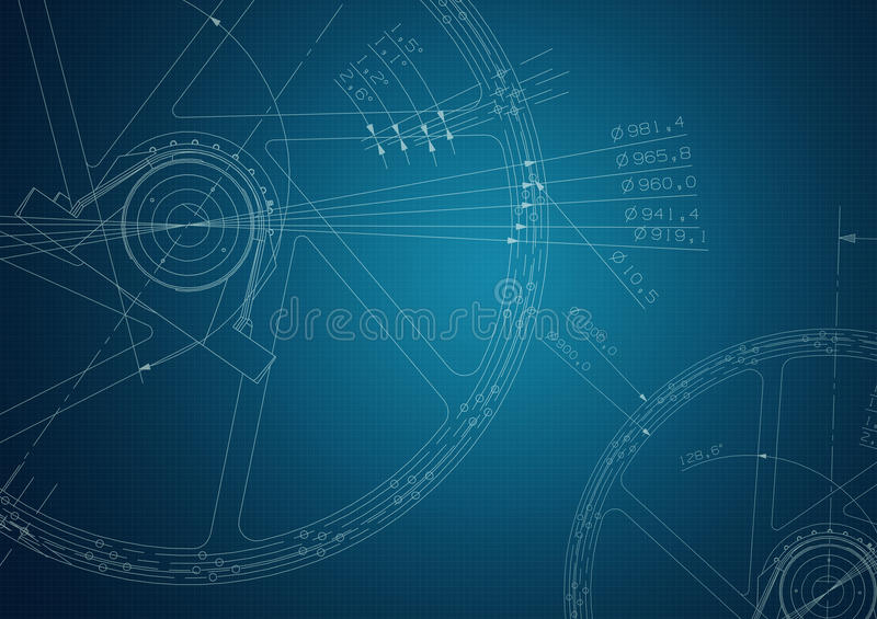 Industrial blueprint stock illustration illustration of engineer download industrial blueprint stock illustration illustration of engineer 40444077 malvernweather Image collections