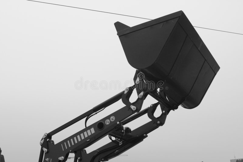 Download Industrial bucket loader stock image. Image of upraised - 7038005