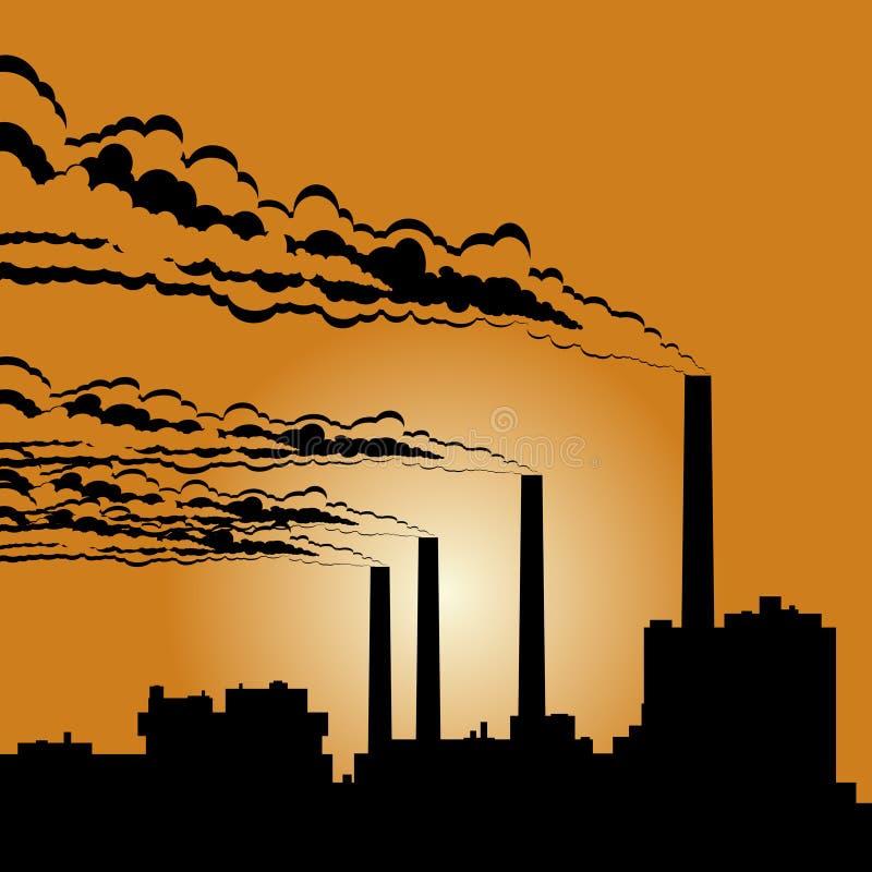 Download Industrial building stock vector. Image of industrial - 26799639
