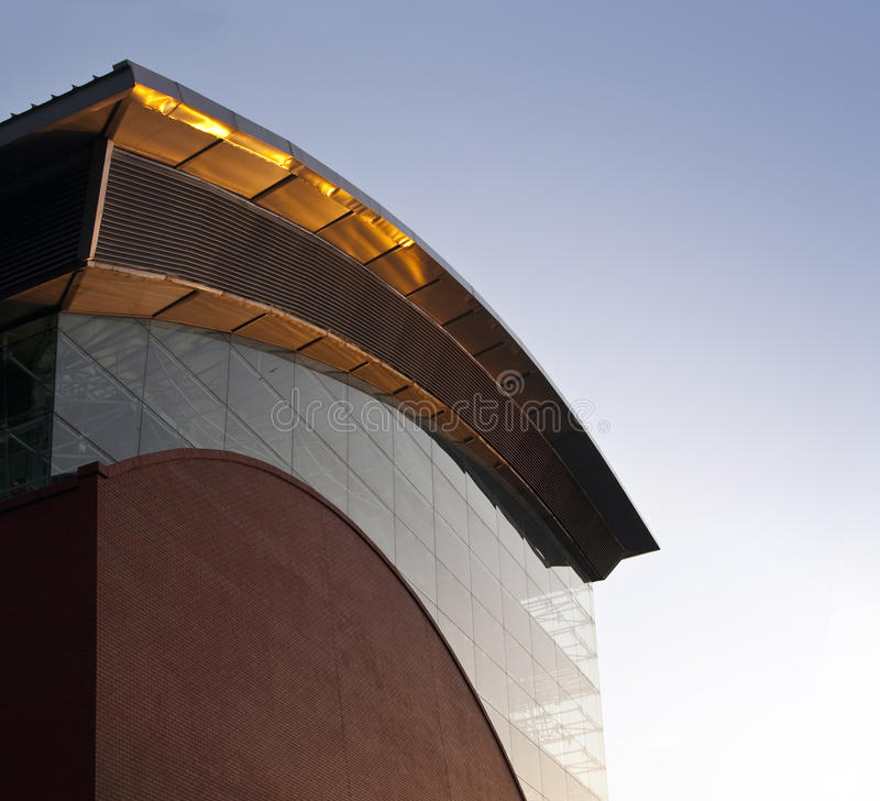 Download Industrial Building. Wave Shaped Power Plant Stock Photo - Image: 13942218