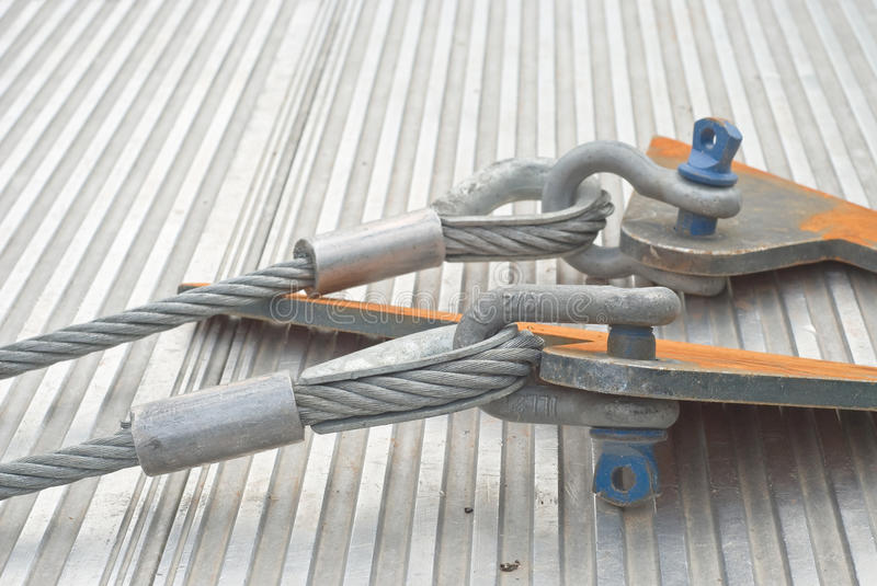 Industrial Cable with Shackle